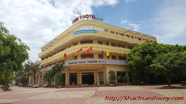 cổng khách sạn Thiên Ý, Thiên Cầm