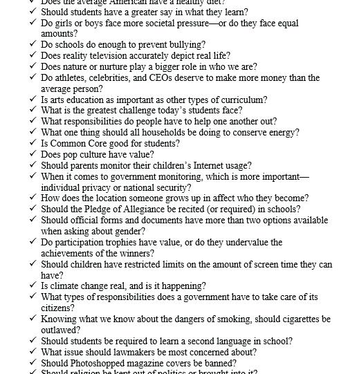 Argumentative-Essay-Topic-Ideas